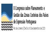 X Congresso sobre Planeamento e Gestão das Zonas Costeiras dos Países de Expressão Portuguesa